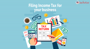 Filing tax returns for business
